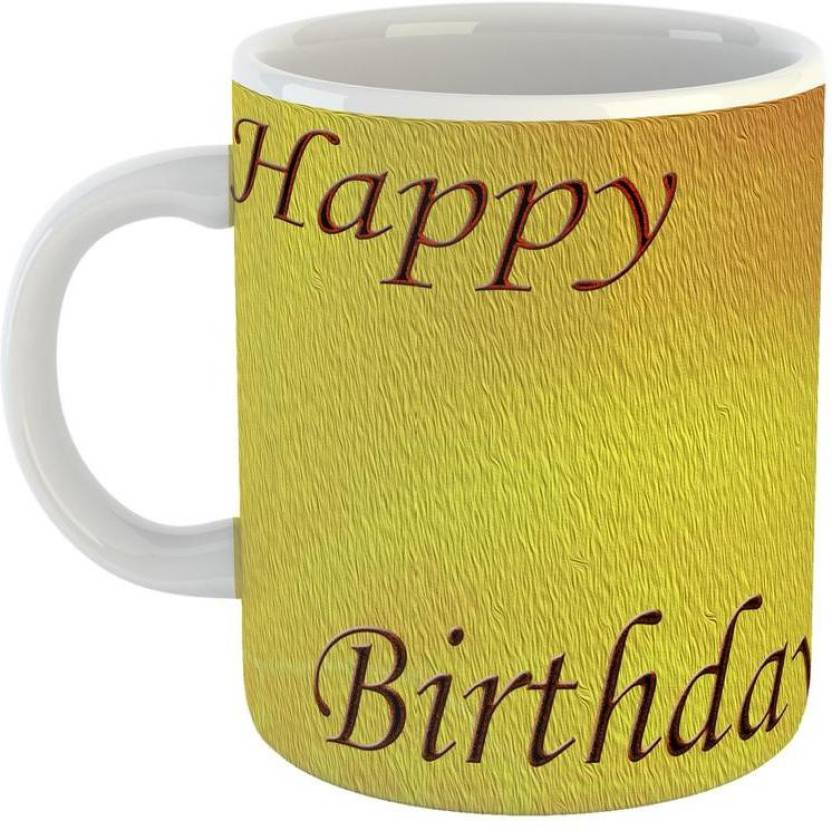 GiftOwl Happy Birthday To My Best Friend Coffee For Of Friends Girlfriend Boyfriend Giftfamily With Glossy Finish Vibrant Print 350 Ml