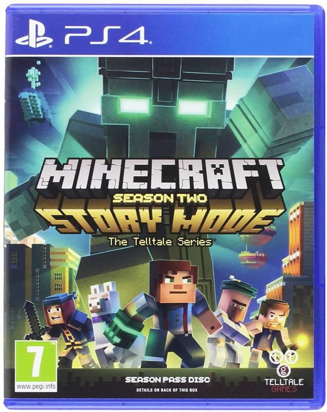 Minecraft Story Mode - Season 2 (PS4) Price in India - Buy Minecraft