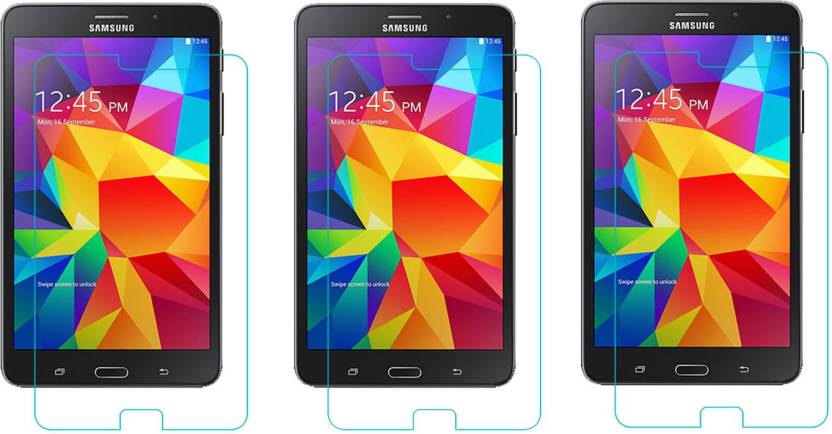 ACM Tempered Glass Guard for Samsung Tab 4 7 Sm T231 Pack of 3