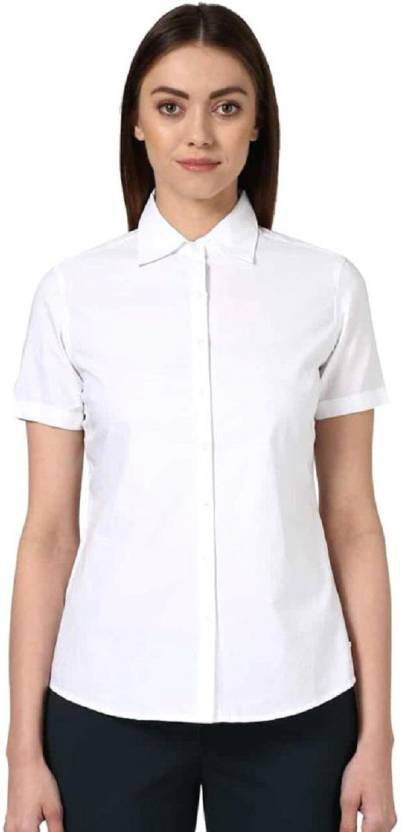 Trendyfrog Women Solid Formal White Shirt - Buy Trendyfrog Women Solid Formal  White Shirt Online at Best Prices in India  e9dd95cc2