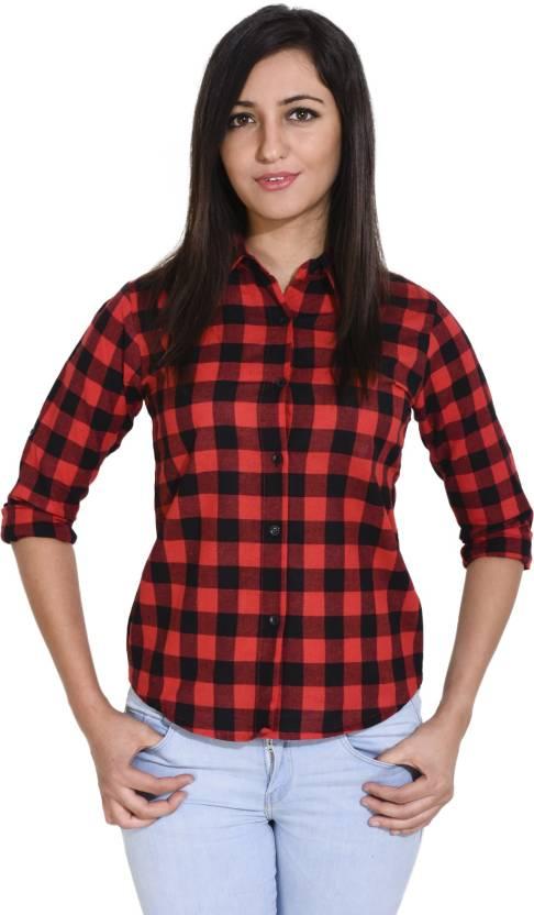 82b6fbe5 Trendyfrog Women's Checkered Formal Multicolor Shirt - Buy Trendyfrog Women's  Checkered Formal Multicolor Shirt Online at Best Prices in India    Flipkart. ...