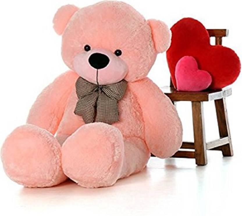 Khatu Shyam Enterprises 4 Feet Stuffed Spongy Huggable Cute Teddy