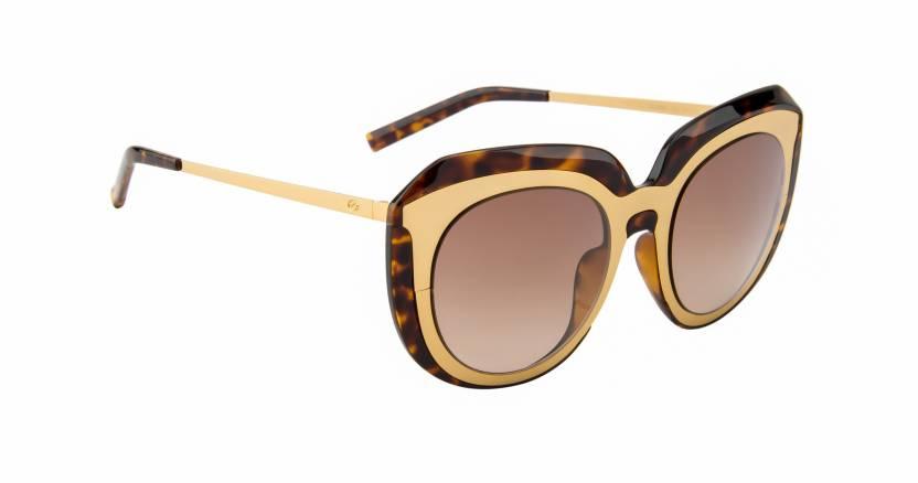 836b7de7b39 Buy Scott Cat-eye Sunglasses Brown For Women Online   Best Prices in ...