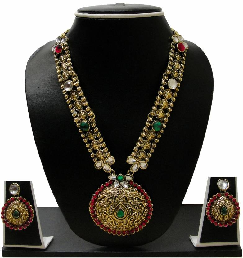 ff5dbd5ed1adb Zaveri Pearls Alloy Jewel Set