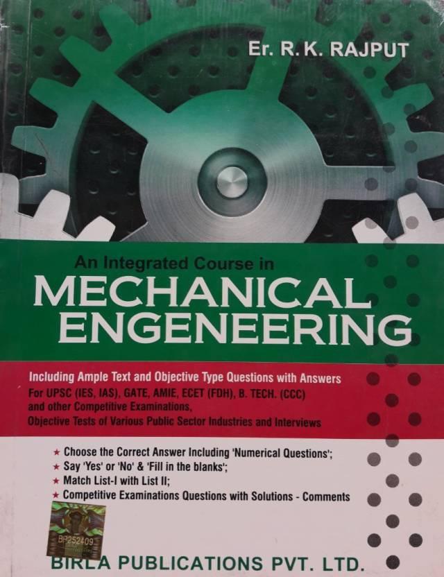 Mechanical Engineering: Buy Mechanical Engineering by R  K