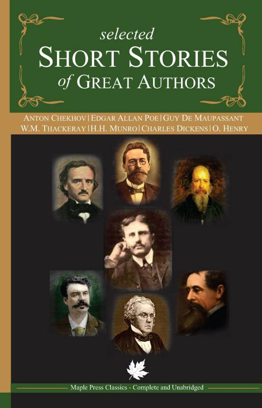 Selected Short Stories Of Great Authors Buy Selected Short Stories