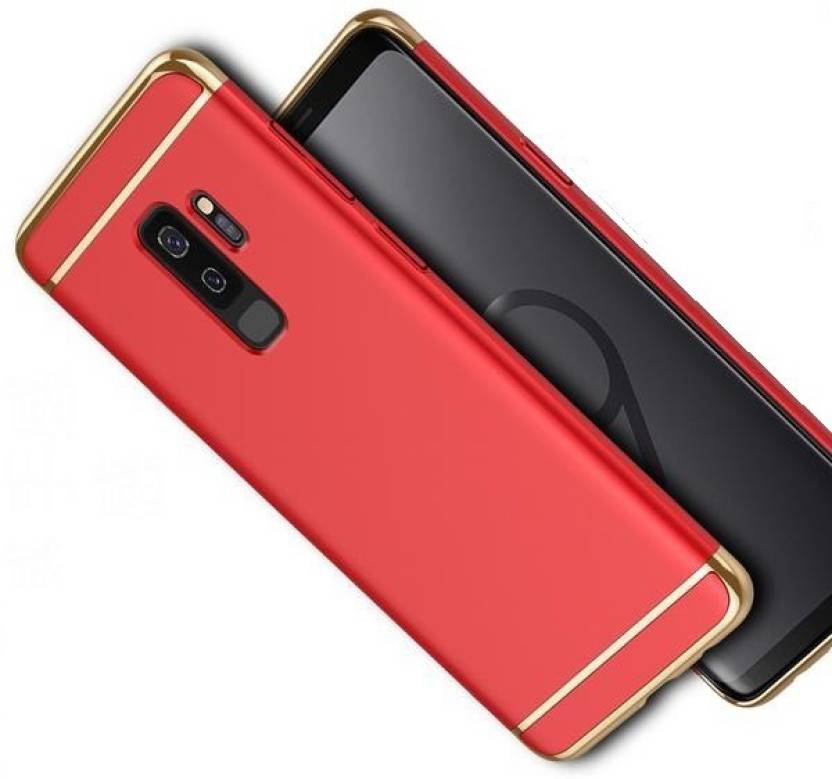 low priced 8366b 591b2 Ifra Back Cover for Samsung Galaxy S9 Plus - Red