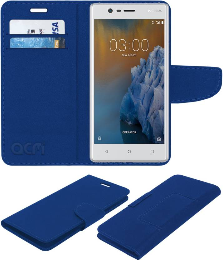 competitive price 43a0f af7a1 ACM Flip Cover for Nokia 3 - ACM : Flipkart.com