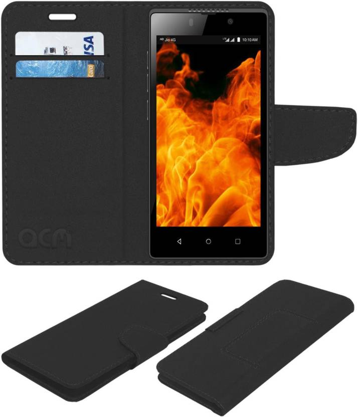 sale retailer 5a5df cc910 ACM Flip Cover for Lyf Flame 8 - ACM : Flipkart.com