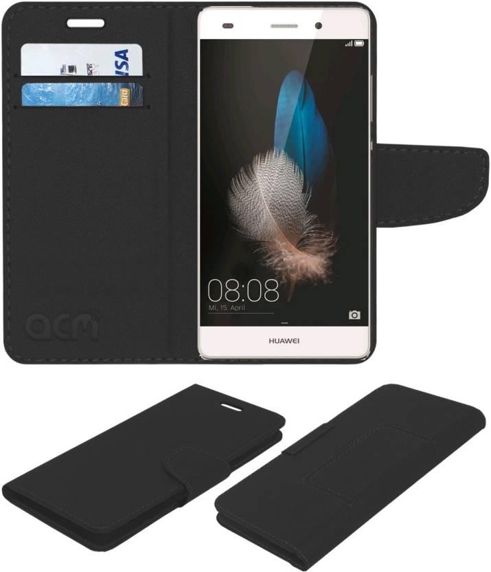 quality design d21e3 4d2b6 ACM Flip Cover for Huawei P8 Lite - ACM : Flipkart.com