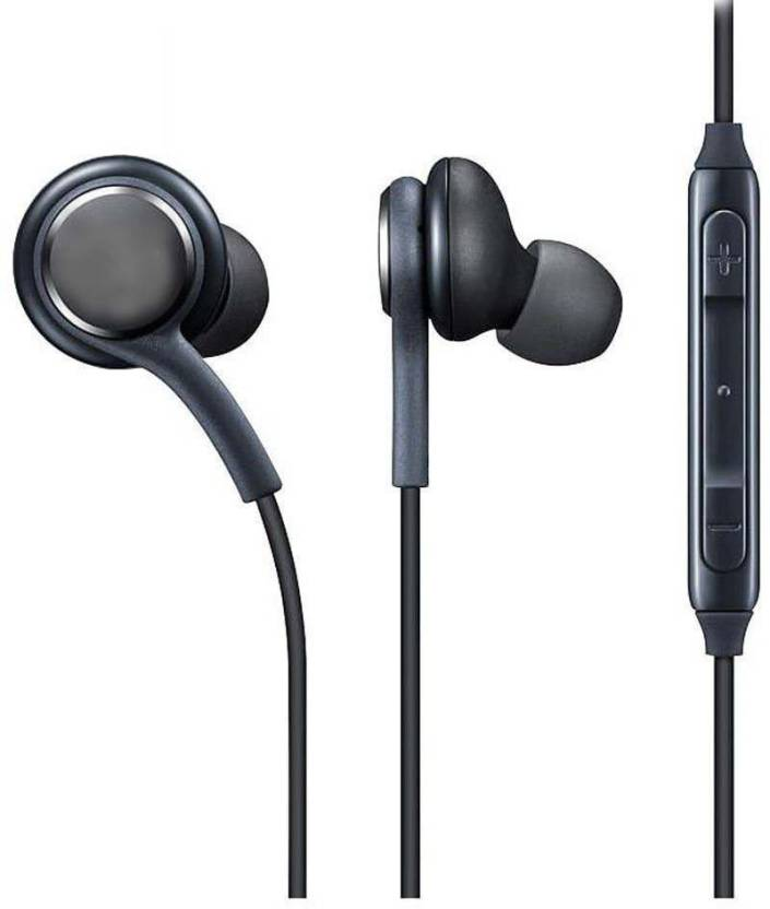 JMO27Deals headphone Wired Headset with Mic Black, In the Ear