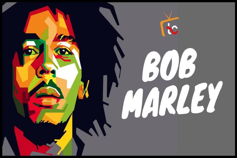 Bob Marley Cartoon Character