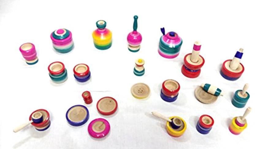 Kumarihandicrafts Eco Friendly Wooden Kids Toy Kitchen Set Large
