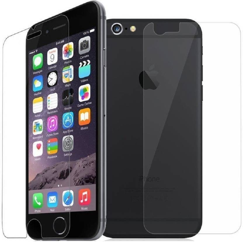BlackBug Tempered Glass Guard for Apple Iphone 6 Front and Back Screen Protector,Screen Guard