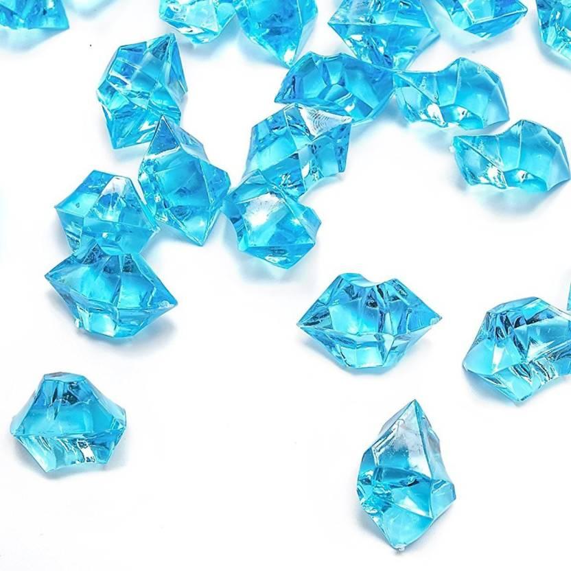 Day Acrylic Ice Cubes Fake Ice Cubes Gems Gemstones Decorative Glass