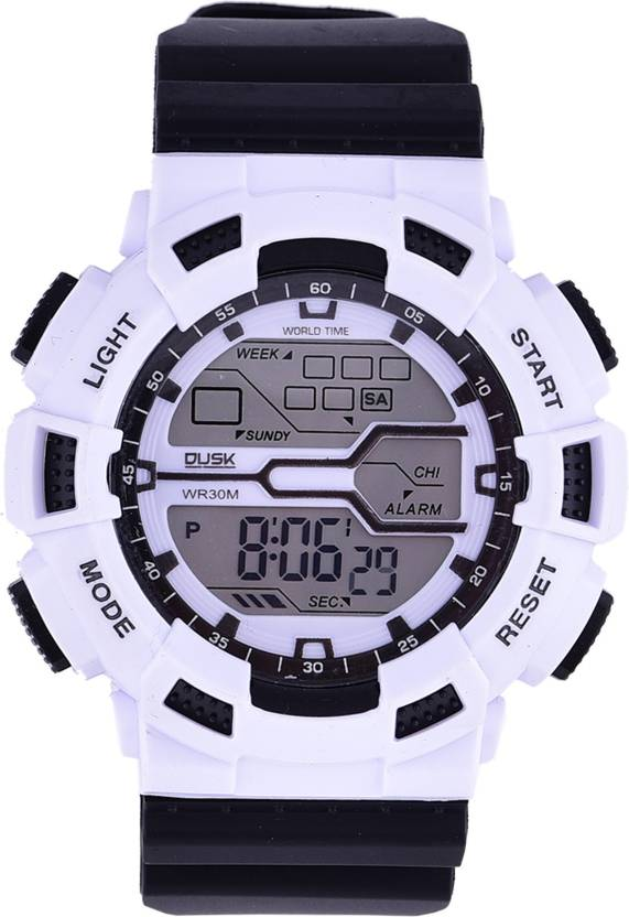 8a3e3884f Skmei DUSK 101 White Black Digital Sports Watch - For Men - Buy Skmei DUSK  101 White Black Digital Sports Watch - For Men DUSK 101 White Black Digital  ...