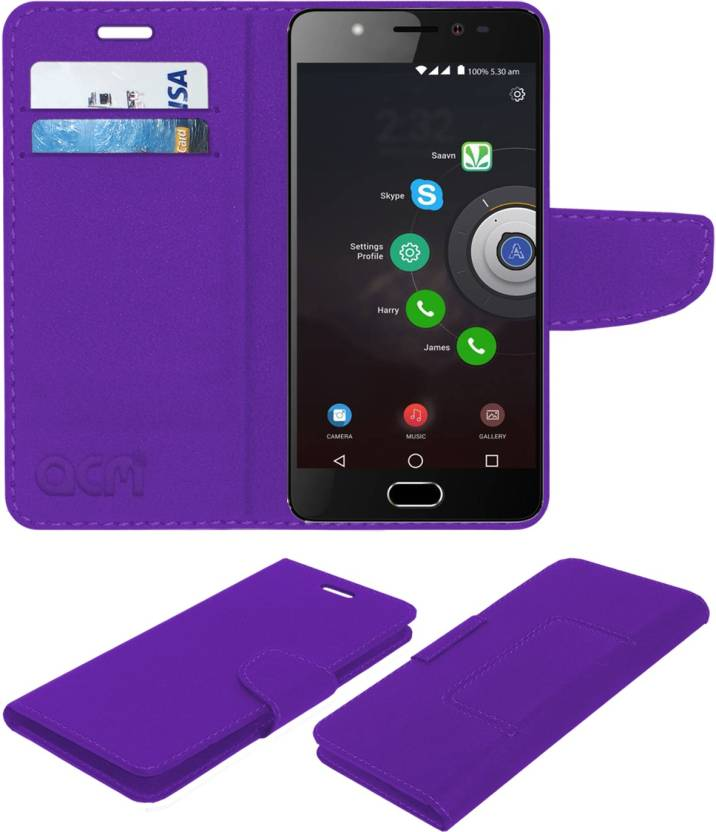 reputable site 7f5bf 8182a ACM Flip Cover for Panasonic Eluga Ray Max - ACM : Flipkart.com