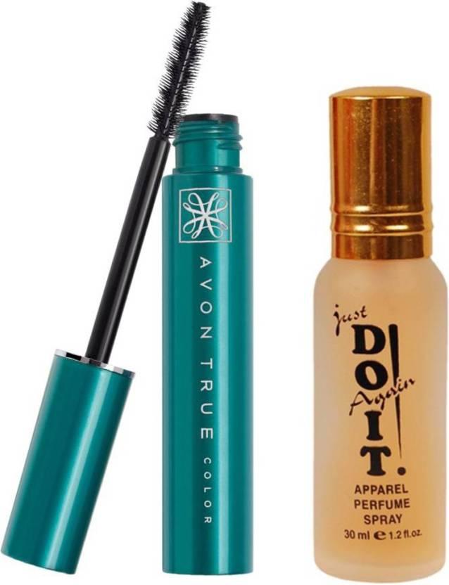 0b79e565756 Avon Anew super shock volume mascara 10 g (24796) with one do it perfume 30  ml (Set of 2)