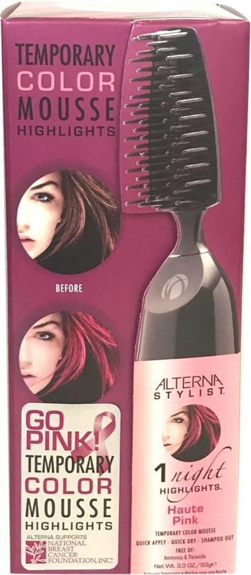 Alterna Temporary Color Mousse Hair Color - Price in India ...