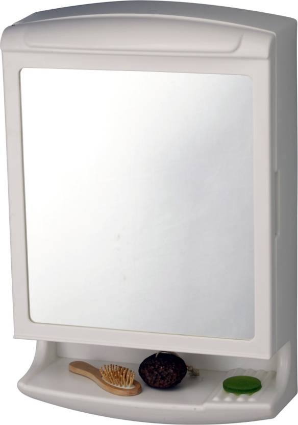 Branco Branco Pride New Look Cabinet Brc 827 White Plastic