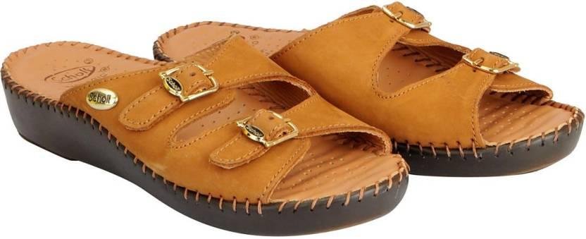 ecda91714ef101 Dr. Scholls Women Tan Sandals - Buy Dr. Scholls Women Tan Sandals ...