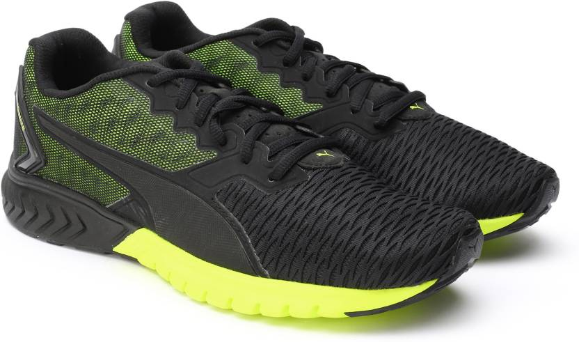 2612bcdf4691 Puma IGNITE Dual Running Shoes For Men - Buy Black-Safety Yellow ...