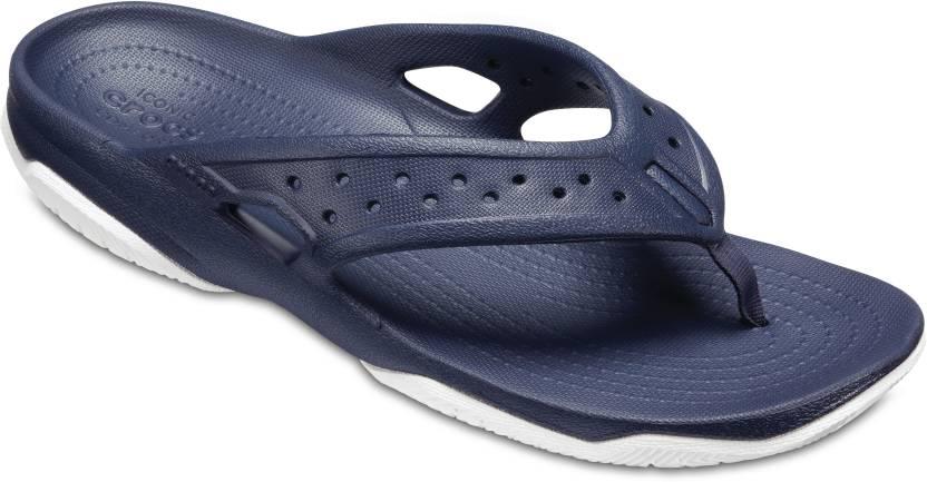 327e6ab58 Crocs Crocs Swiftwater Deck Flip M Flip Flops - Buy Crocs Crocs Swiftwater  Deck Flip M Flip Flops Online at Best Price - Shop Online for Footwears in  India ...