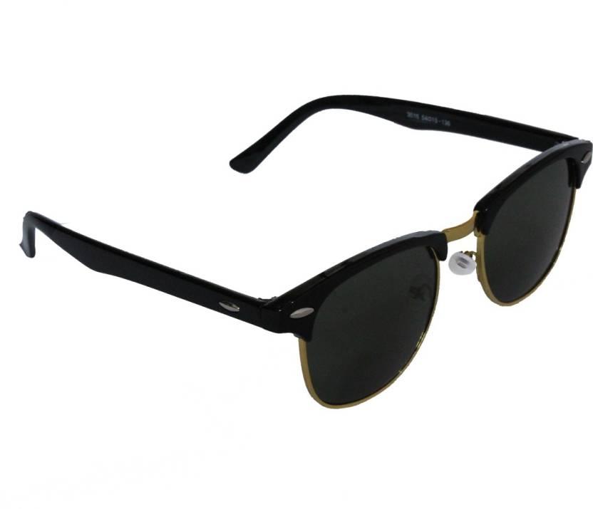 19ce018f574b Buy JMFASHIONWORLD Clubmaster Sunglasses Black For Men   Women ...