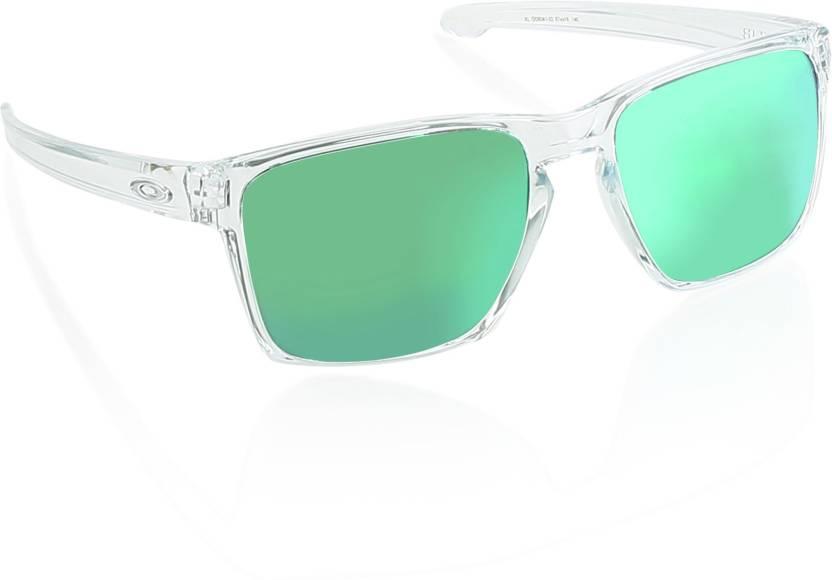 8dab0b94488 Buy Oakley SLIVER XL Wayfarer Sunglass For Men Online   Best Prices in  India