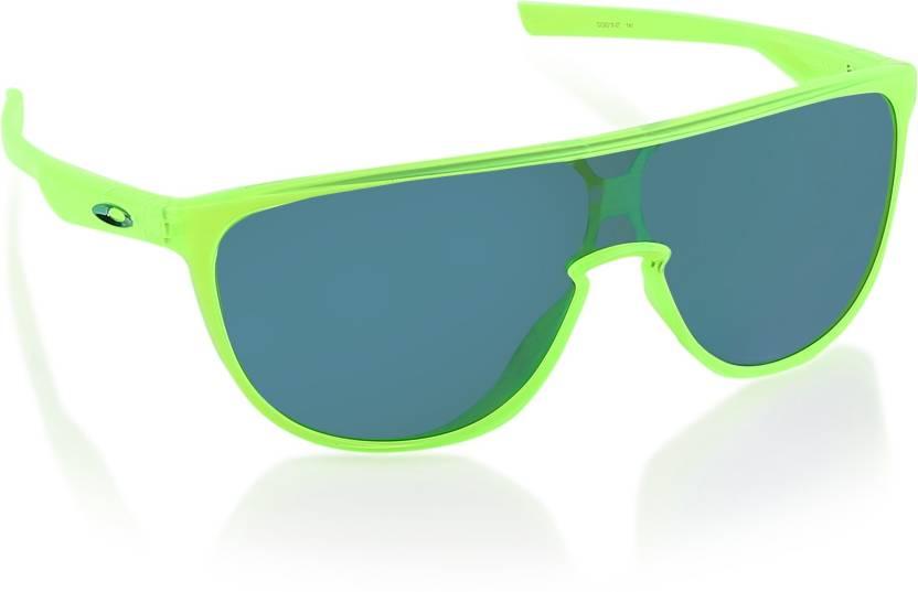 a21c354c1e6 Buy Oakley TRILLBE Shield Sunglass Silver For Men Online   Best ...