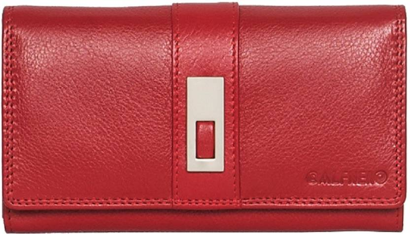 9df3b6d58b81 Calfnero Women Red Genuine Leather Wallet Red - Price in India ...