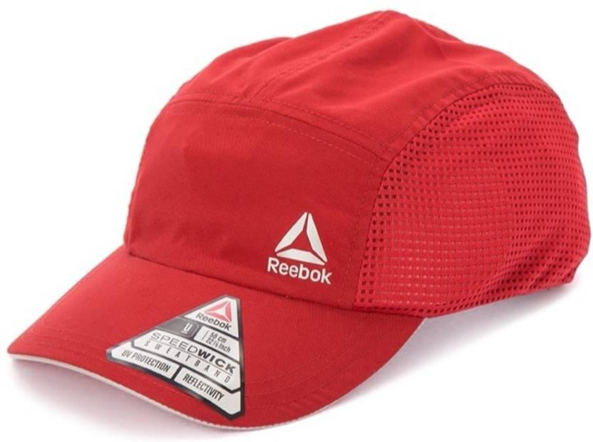 2d794081b3a1b REEBOK Solid OS RUN PERF Cap - Buy REEBOK Solid OS RUN PERF Cap Online at  Best Prices in India