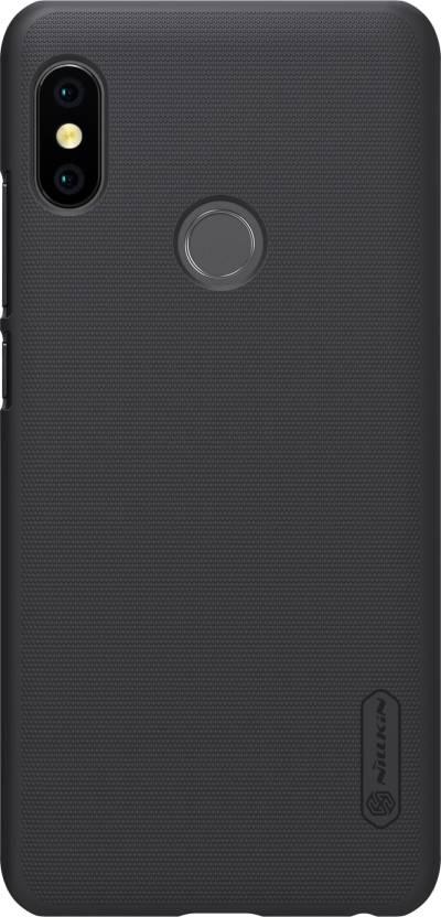 Nillkin Back Cover for Mi Redmi Note 5 Pro (BLACK, Plastic)