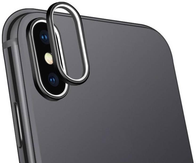 Boom Apple Iphone X Back Camera Lens Metal Ring Guard Cover