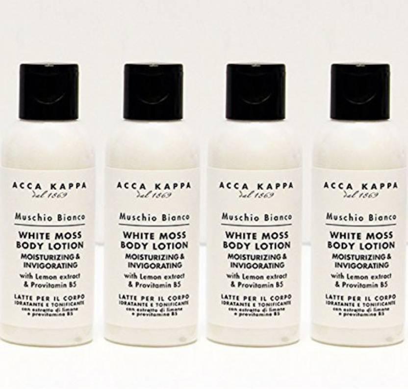 koop het beste aliexpress brede variëteiten Acca Kappa White Moss Body Lotion - Price in India, Buy Acca ...