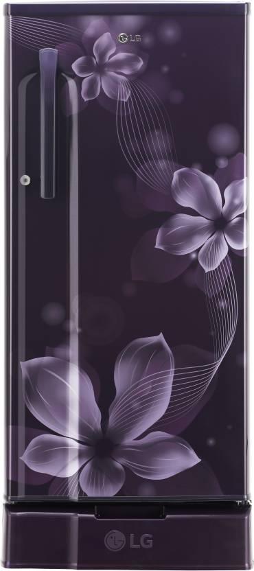 LG 188 L Direct Cool Single Door 3 Star Refrigerator  (Purple Orchid, GL-D191KPOW) at Flipkart ₹14,990