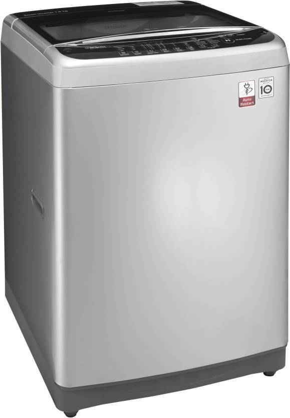 LG 7 kg Fully Automatic Top Load Washing Machine Silver(T8077NEDLY)