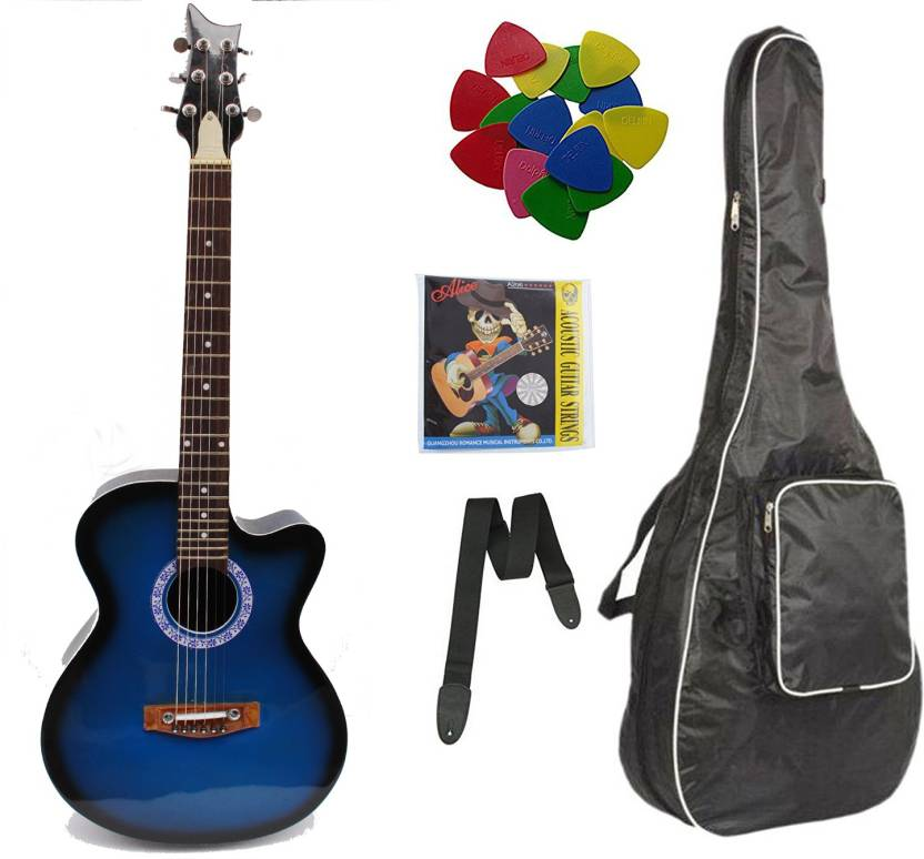 cd07a6edf45 SG Musical 36 inch A/C Linden Wood Acoustic Guitar Price in India ...