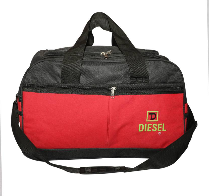 a3be625f88 Nice Line (Expandable) Gym and Travel Duffle for men and women Travel  Duffel Bag (Red)