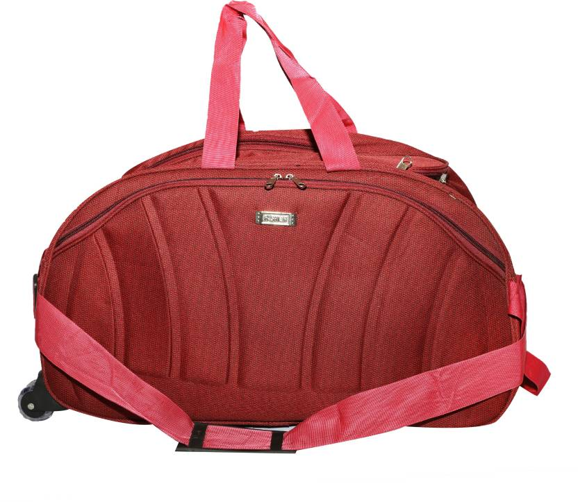 71043c8132 Nice Line (Expandable) Travel Duffle for men and women Travel Duffel Bag ( Red)