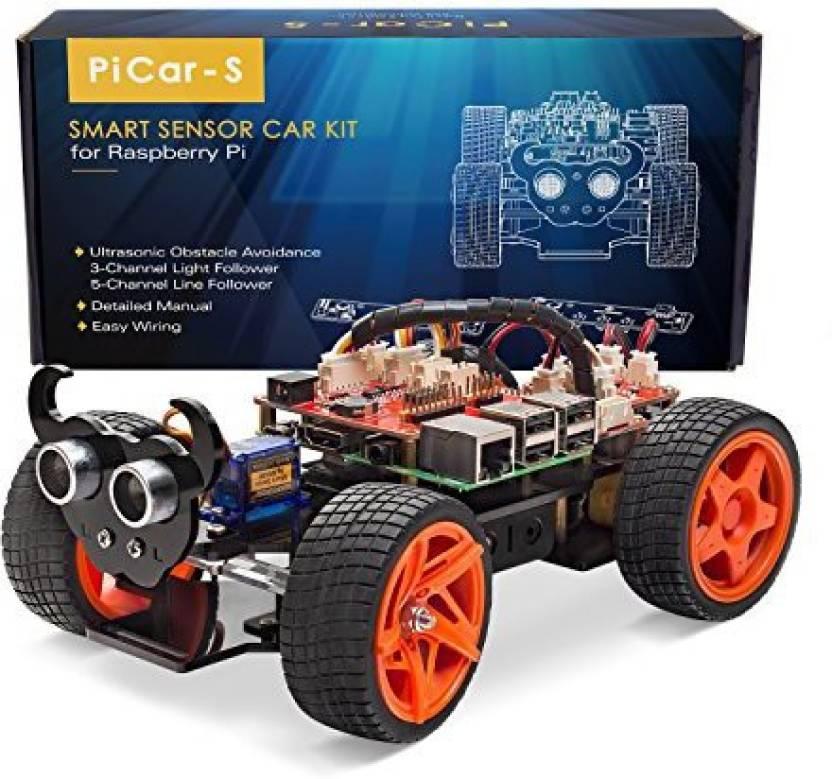 SunFounder Raspberry Pi Smart Robot Car Kit - Picar-S Block