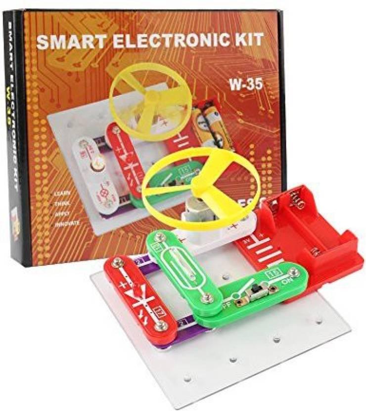 Generic Per Diy Electric Circuit Building Blocks Kit