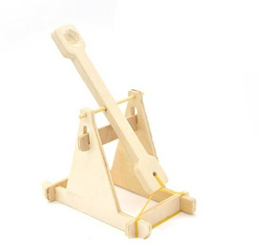 Jili Online Diy Assembly Wooden Catapult For Knight Knights Castle