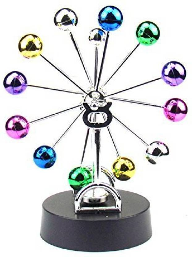 Generic Uleade Kinetic Art Universe Electronic Perpetual Motion Desk Toy Home Decoration