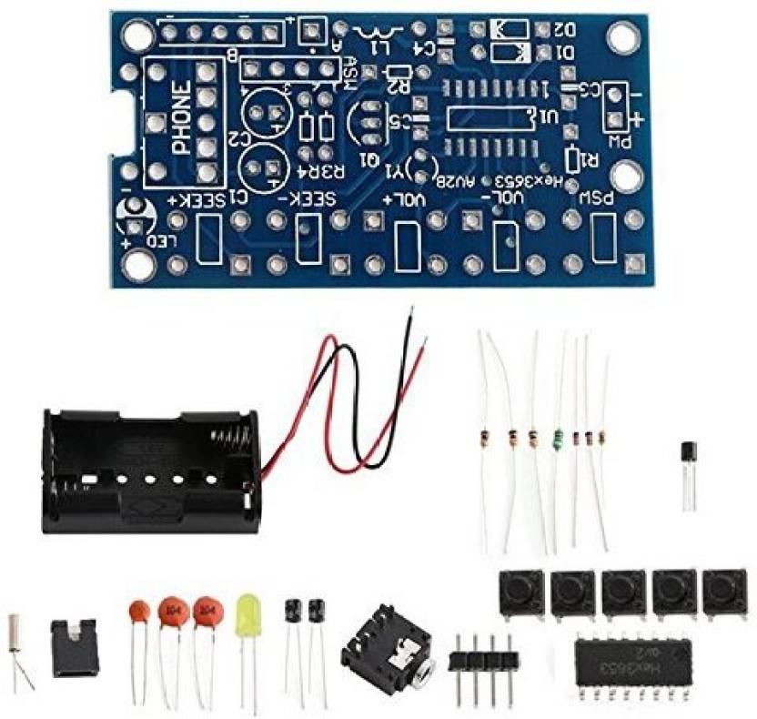Generic Diy Electronic Kits 76mhz 108mhz Stereo Fm Radio Receiver
