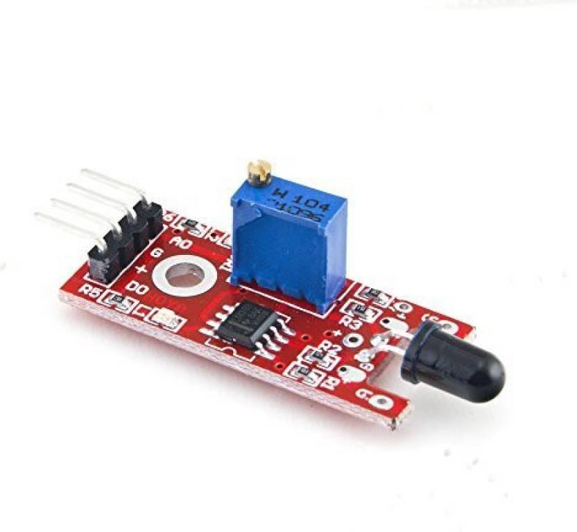 Generic Iduino Ir Flame Detection Sensor Module Fire