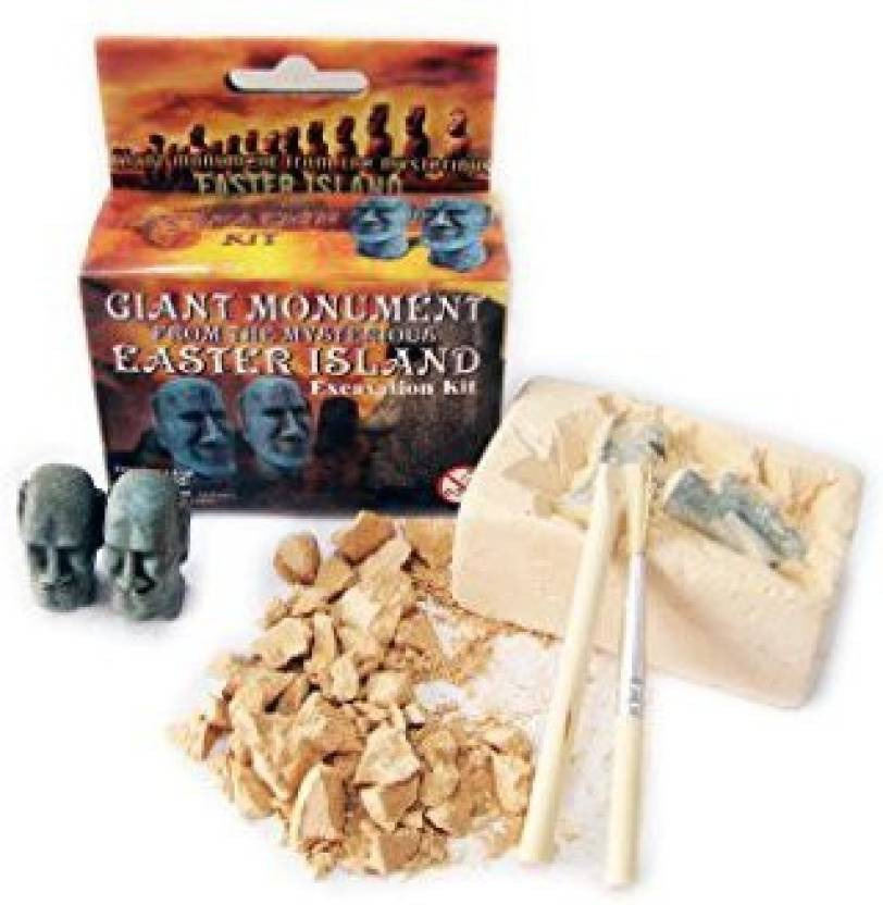 NW Active Kids Easter Island Monument Excavation Kit Price