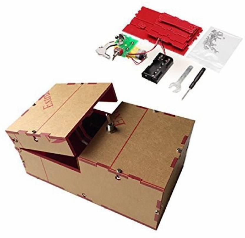 My Toots Useless Box Diy Kit Machine Birthday Gift Toy Geek Gadget Fun Office Home