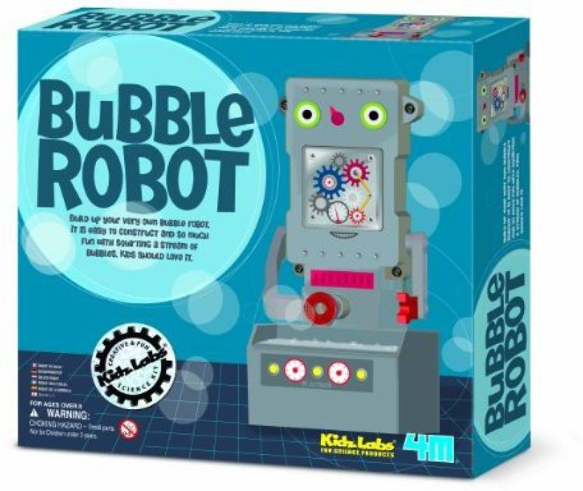 af825ff1b Great Gizmos 4M Kidz Labs Bubble Robot Price in India - Buy Great ...