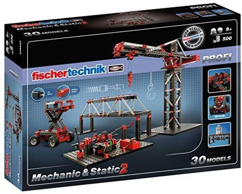 fischertechnik Mechanic + Static 2 Building Kit (500 Piece) Price in